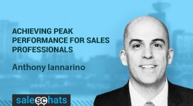 #SalesChats: Peaking Sales Performance, with S. Anthony Iannarino