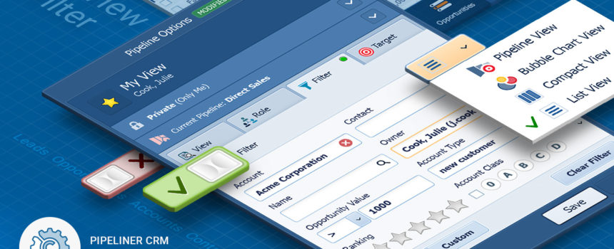 The Many Views of Pipeliner CRM