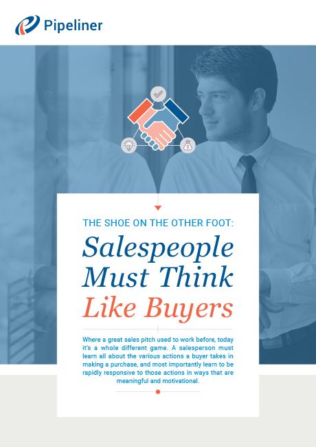 Salespeople Must Think Like Buyers