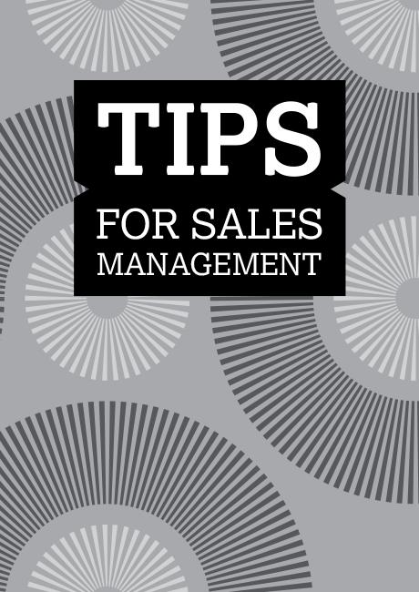 Tips for Sales Management