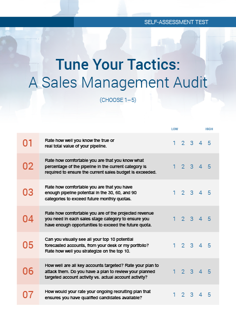 Take a Sales Management Audit