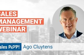 Webinar: Sales Management Practises, with Ago Cluytens