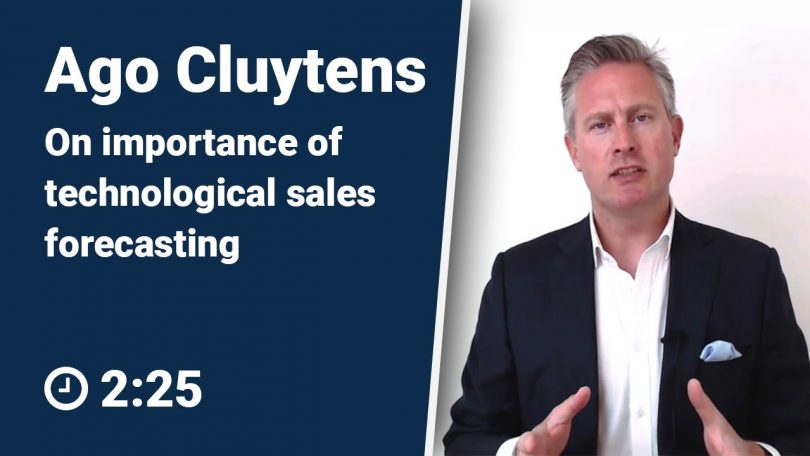 Ago Cluytens on The Importance of Technological Sales Forecasting