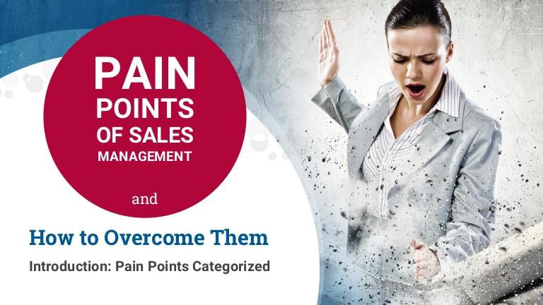 Sales Management Pain Points – Overview