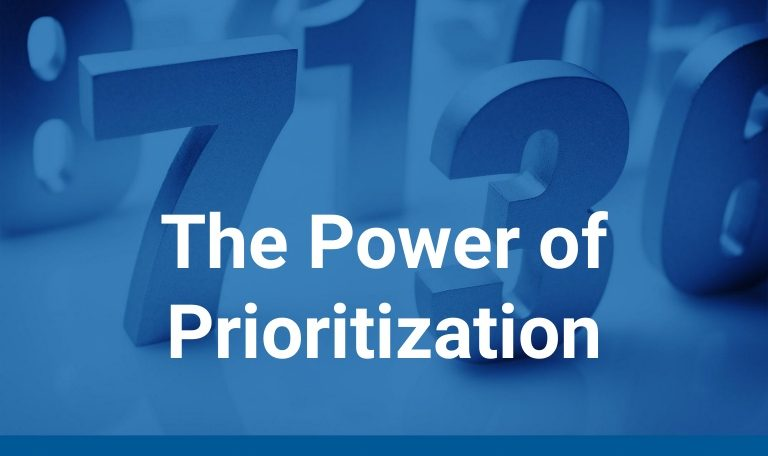 Sales Conversion and The Power of Prioritization