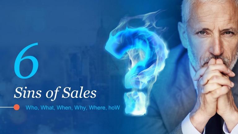 6 Sins of Sales