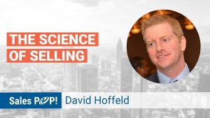 David Hoffeld author of The Science of Selling