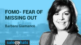 #SalesChat: Sales Mgmt FOMO, with Barbara Giamanco