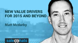#SalesChats #5: New Value Drivers For 2015 and Beyond