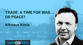 #SalesChats: A Time for War…or Peace? with Nikolaus Kimla