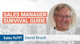 """Interview with David Brock author of """"Sales Manager Survival Guide"""""""