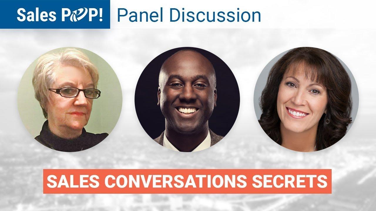 Panel Discussion Sales Conversations Secrets