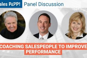 Coaching Salespeople: Panel Discussion