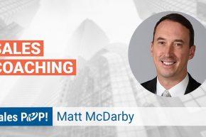 Matt McDarby Talks Sales Coaching