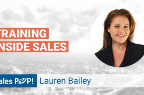 Lauren Bailey Talks Training Inside Sales