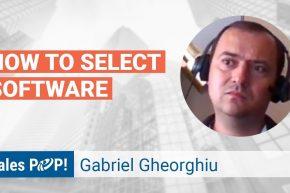 Gabriel Gheorghiu Talks Selecting Business Software