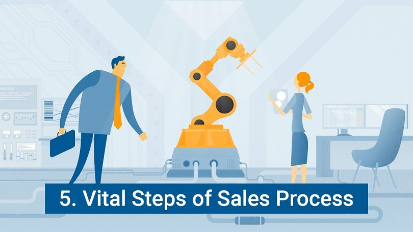 5 Vital Steps of the Sales Process