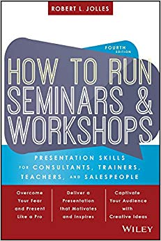 How to Run Seminars and Workshops Cover