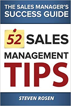 52 Sales Management Tips: The Sales Managers' Success Guide Cover