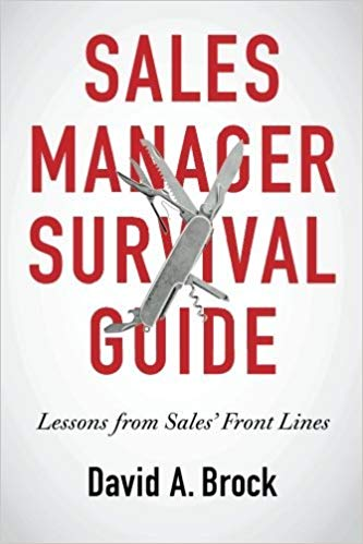 Sales Manager Survival Guide: Lessons From Sales' Front Lines Cover
