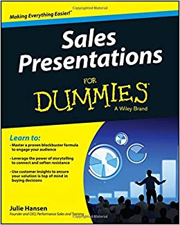 Sales Presentations For Dummies Cover