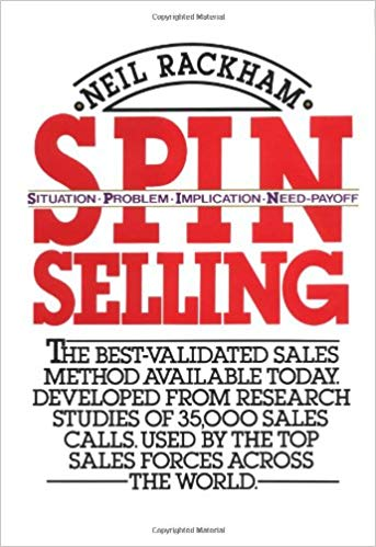 SPIN Selling Cover