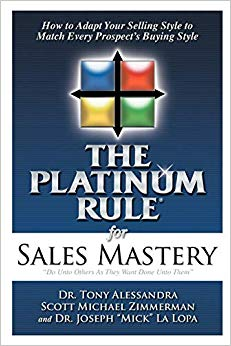 The Platinum Rule for Sales Mastery Cover