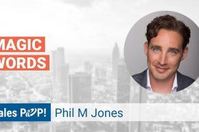 Phil M. Jones Talks Magic Words