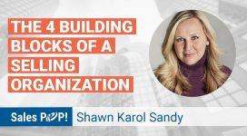 The 4 Building Blocks of a Selling Organization