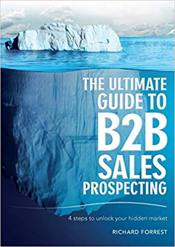 The Ultimate Guide to B2B Sales Prospecting Cover