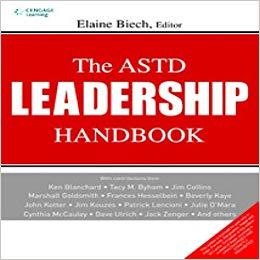 The ASTD Leadership Handbook Cover