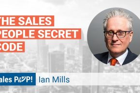 Ian Mills Shares the Salesperson Secret Code