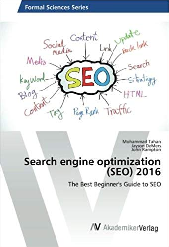 Search engine optimization (SEO) 2016: The Best Beginner's Guide to SEO Cover