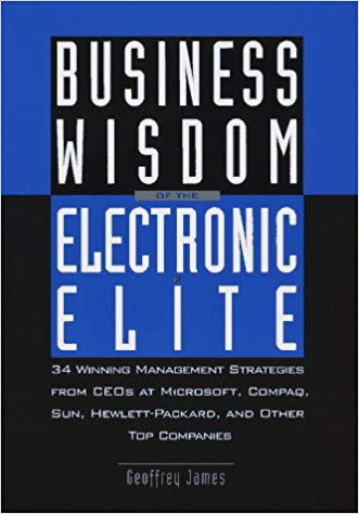 Business Wisdom of the Electronic Elite: 34 Winning Management Strategies from C EOs at Microsoft Cover