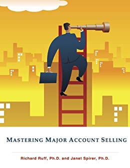 Mastering Major Account Selling Cover