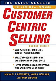 CustomerCentric Selling, Second Edition Cover