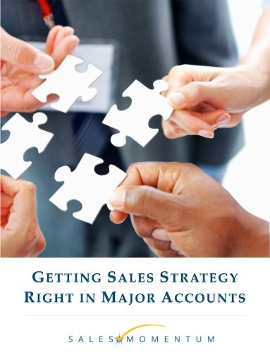 Getting Sales Strategy Right in Major Accounts Cover