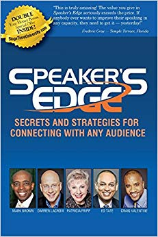 Speaker's EDGE: Secrets and Strategies for Connecting with Any Audience Cover