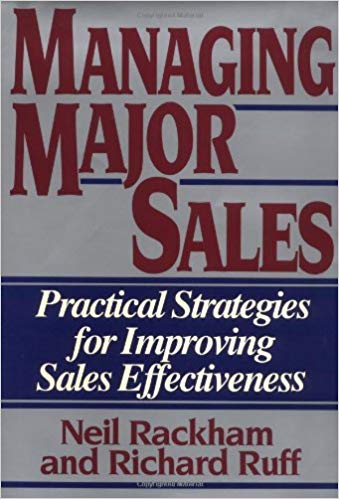 Managing Major Sales Cover