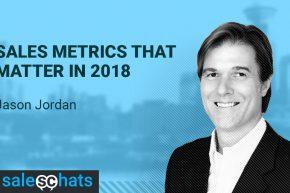 #SalesChats: 8th February 2018 9am with Jason Jordan