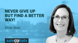 #SalesChats: August 2nd 9am PT with Elinor Stutz
