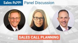 """Panel Discussion – """"Sales Call Planning"""""""