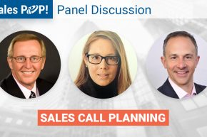 "Panel Discussion – March 28th 2018 10am ""Sales Call Planning"""