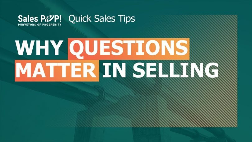 SPIN Selling Quick Overview and Why Questions Matter in Sales