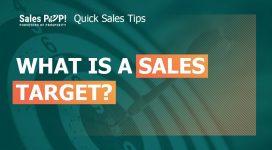 What is Sales Target?
