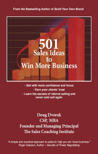 501 Sales Ideas to Win More Business Cover