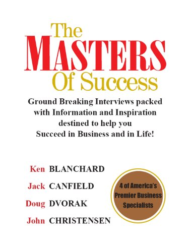 The Masters of Success: 4 of America's Premier Business Specialists Cover