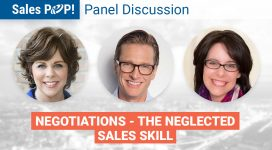 Panel Discussion: Negotiations – The Neglected Sales Skill