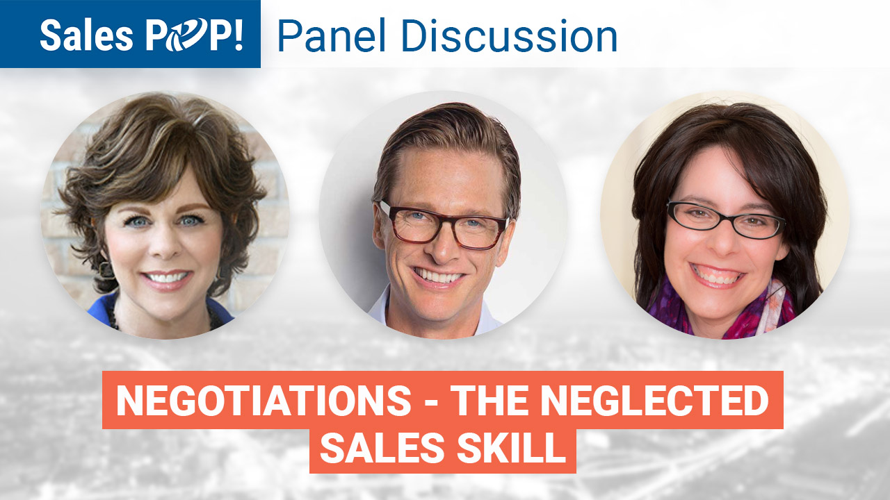 Panel Discussion: Negotiations - The Neglected Sales Skill