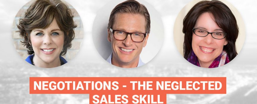 Negotiations, The Neglected Sales Skill
